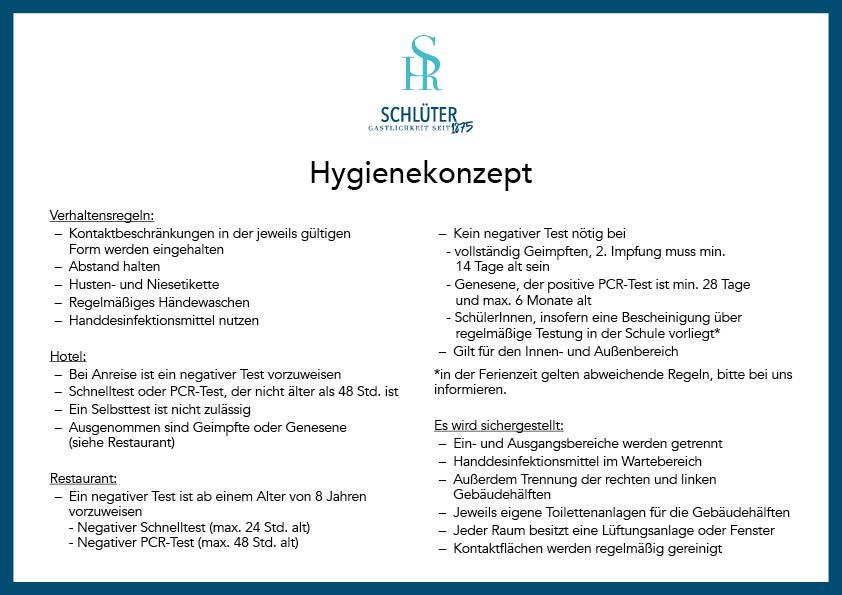 hygienekonzept September 2021